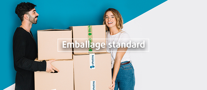Emballage standard pour l'industrie